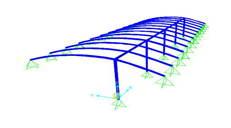 Eskişehir Cassaba Tente Projesi Modeli