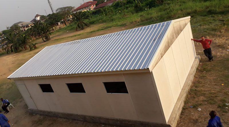Prefabrik Bina Kurulum Süpervizörlük Hizmeti, Nijerya