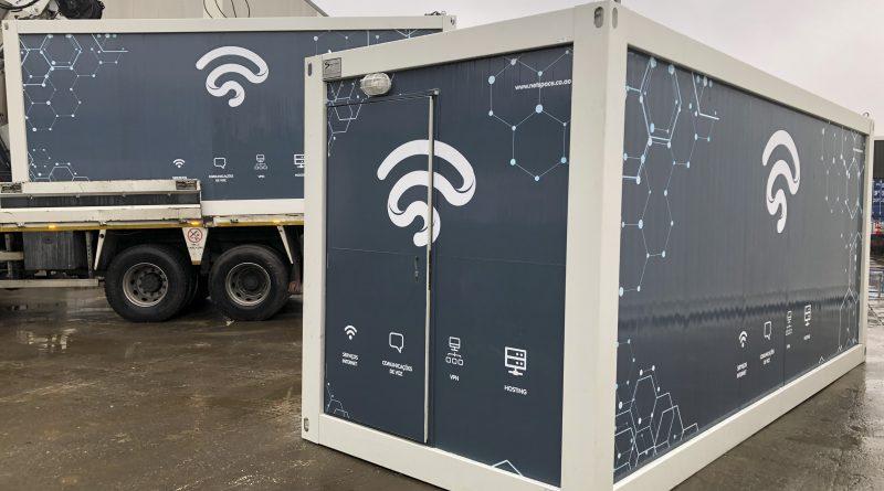 Monoblok (monte) Cast Folyo giydirme ve Laminasyon Kaplamalı GSM Konteynerleri Tedariği (Luanda/Angola Projesi)