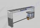 Site Giris Tak (Tag) ve Güvenlik Kabini 3D Animasyon | Ankara Projesi
