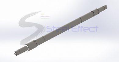 Amcor Flexibles Burgdorf GmbH firması Makine parçası 3D Visual & 3D Model projesi, Burgdorf/ İsviçre